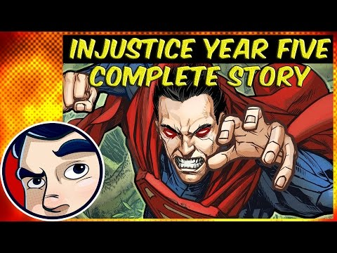 Injustice Year Five Prelude - Complete Story