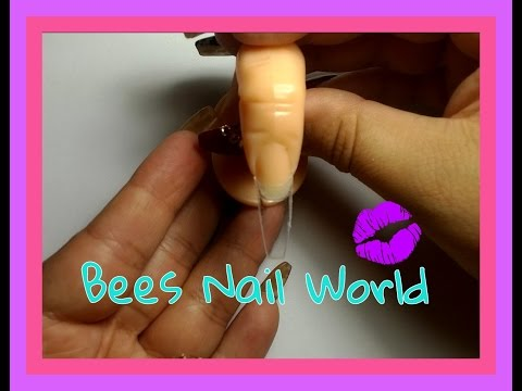 HOW TO - Coffin Shape Nail From A Square Nail Tip