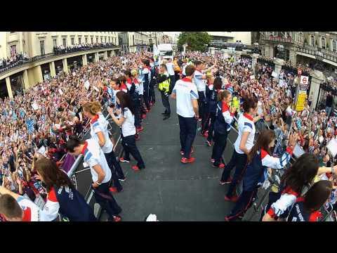 Team GB London 2012 'Our Greatest Team' Parade