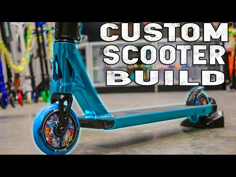BUILDING FIRST CUSTOMER CUSTOM SCOOTER BUILD!