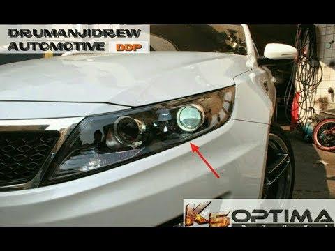 How to EASILY Change Headlight Bulbs on 2011-2013 Kia Optima