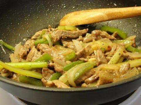 Stir Fry Pepper Beef