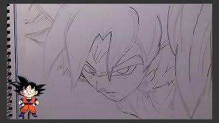 Dibujo Goku Ultra Instinto