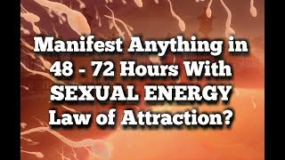 """How I Used SEX ENERGY to Manifest Millions and You CAN, Too!"""