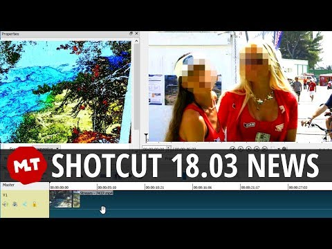 Shotcut 18.03 Release: Mosaic, Sketch Filter, VP9 Speed, FAST IMAGE LOADING