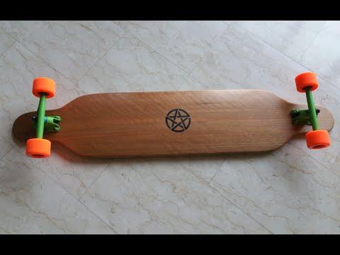 How to build a Wooden/Fiberglass Longboard