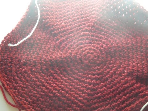 How to crochet a circle blanket with Create Crochet