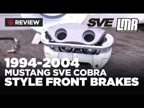 1994-2004 Mustang SVE Cobra Style Budget Front Brake Upgrade Kits - Review