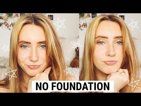 NO FOUNDATION Flawless Skin Tutorial | Kaela Kilfoil