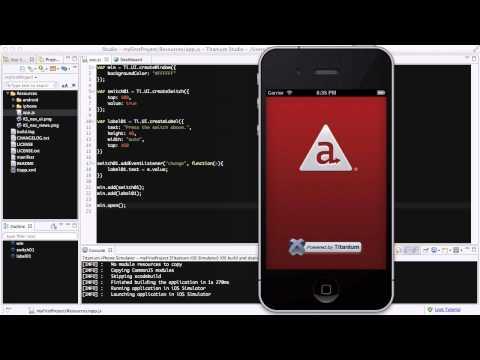 Titanium Studio - 22. Adding switches to your app