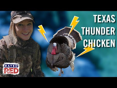 Abby Casey Bags Her First Rio Grande Turkey