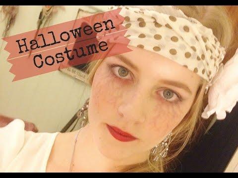 DIY Dead 1920's Flapper Girl Halloween Tutorial ~ Bridee