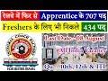 ICF Railway 707 Apprentice Recruitment 2018 - www.icf.indianrailways.gov.in