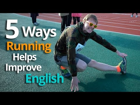 5 Ways to Use Running To Improve English FAST