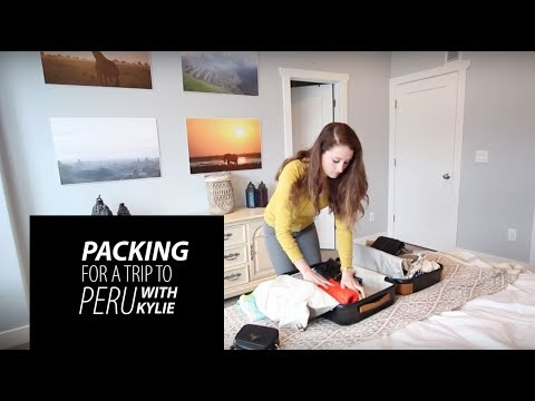 How to Pack for a Trip to Peru (South America)!