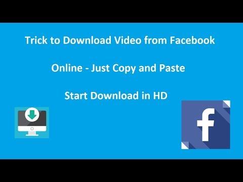 Facebook Video Download Online : FB Downloader