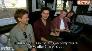 The Maze Runner Cast at In-N-Out VOSTFR - The Maze Runner France