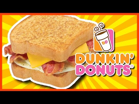 THE BIG N' TOASTED from Dunkin Donuts with HellthyJunkFood