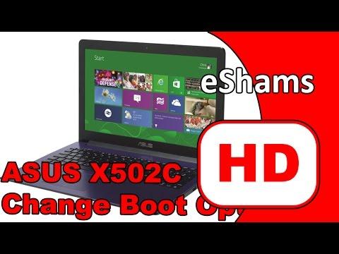 ASUS X502C Change Boot Option UEFI To LEGACY