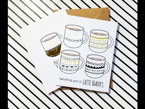 Coffee Cup Cards
