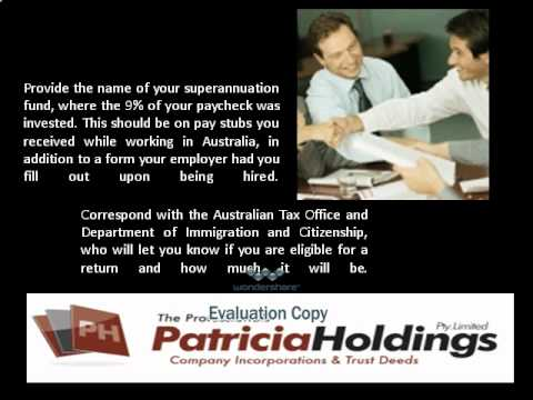 How to apply for superannuation refund