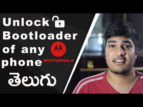 How to unlock bootloader of any Motorola phone | Telugu