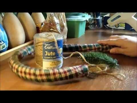 Primitive GIANT Homespun Candy Canes