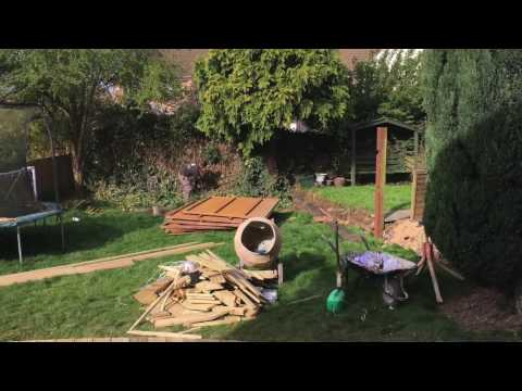 Curved Decking Project