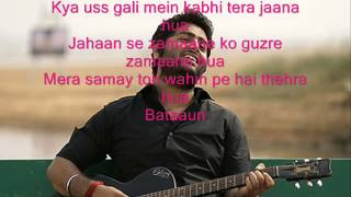 Khamoshiyan Song with Lyrics Arijit Singh  Khamoshiyan Hindi Movie Song