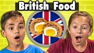 Kids Try British Food | Kids Vs. Food