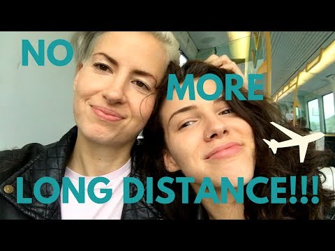 Lesbian Long Distance Relationship AIRPORT REUNION!