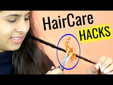 These 6 HAIR HACKS will Solve all Your Problems - Dandruff, Split Ends, Hair Fall .. | Anaysa