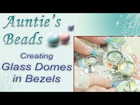 Karla Kam - Creating Glass Domes in Bezels