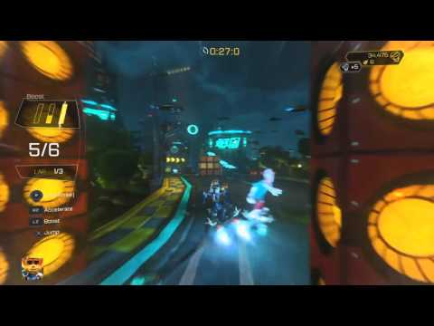 Ratchet & Clank How to get Faster than a Speeding Amoeboid Trophy