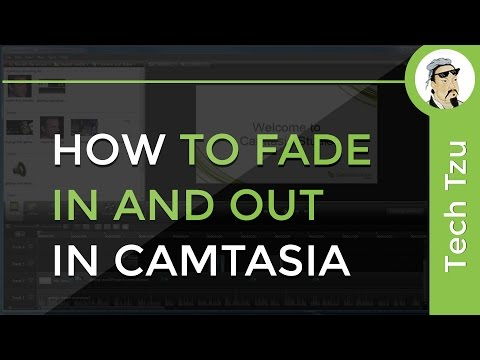 How to Fade In and Out in Camtasia