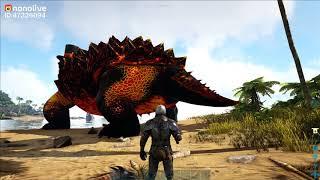 """ARK: Annunaki #2 - Mình Đã Có Khủng Long Gai """"Spinosaurus"""" Đi Farm Thịt Sướng Luôn ^^"""