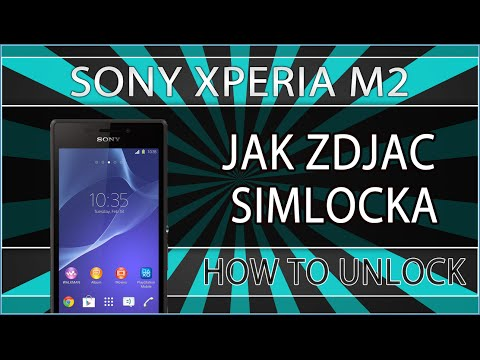 Simlock Sony Xperia M2 - Unlock SIM Network Code