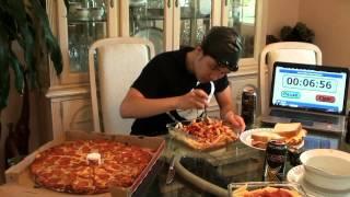 Michael Phelps 12,000+cal Diet Challenge