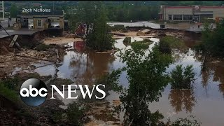 Powerful storms strike states in the Midwest