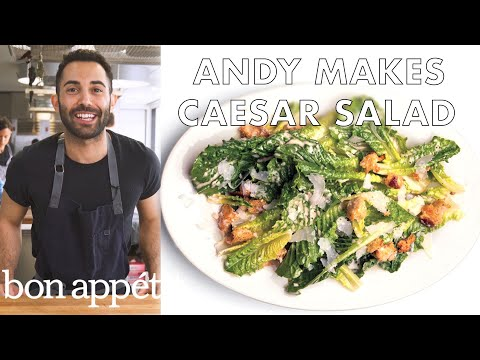 How to Make the Very Best Caesar Salad   From the Test Kitchen   Bon Appétit