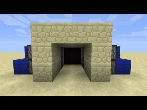 2x2 Secret Piston Doors [60 Seconds with CNB]