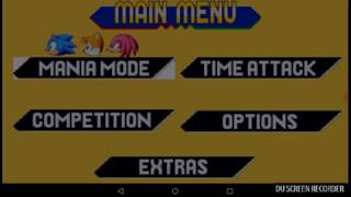 Sonic Mania Android Proof of Concept with APK - PakVim net