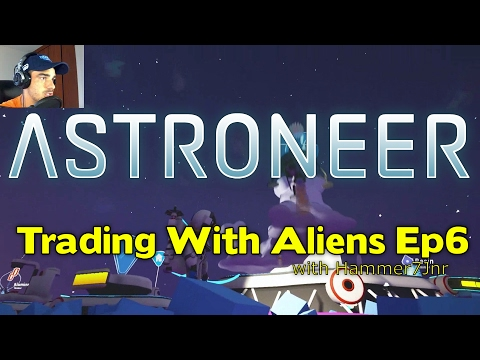 How to Use the TRADE PLATFORM to GET RARE Items!   Astroneer Ep6
