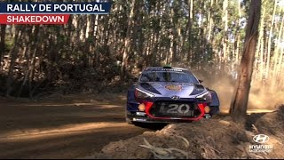 Rally de Portugal Shakedown - Hyundai Motorsport 2017