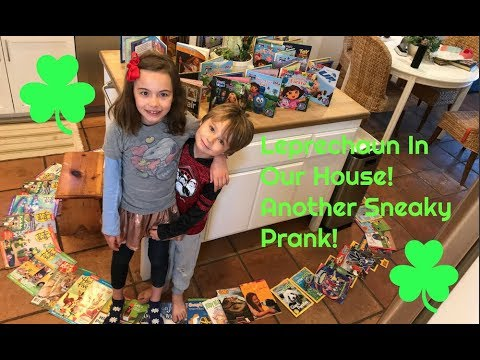 Leprechaun In Our House: Another Sneaky Prank!