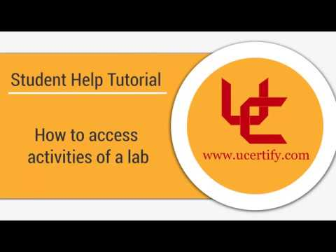How to access activities of a lab