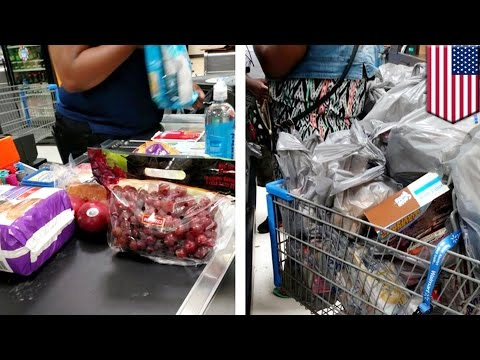 Food Stamp: Photo of shopping cart full of food purchased via EBT sparked controversy - TomoNews
