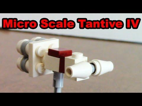 Micro-Scale Tantive IV | LEGO Star Wars Mini-MOC & Tutorial!