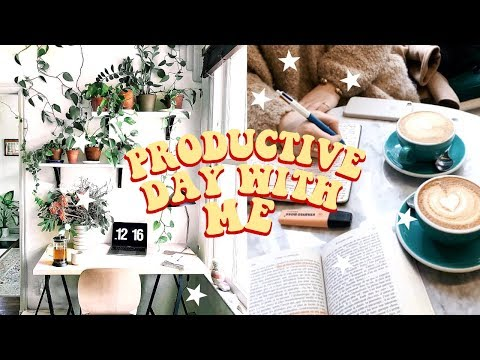 PRODUCTIVE DAY WITH ME! | college edition