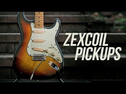 Zexcoil Pickups' Z-Core 5 Vintage Hot Set